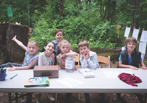 Willow First Graders Featured in NAIS Magazine