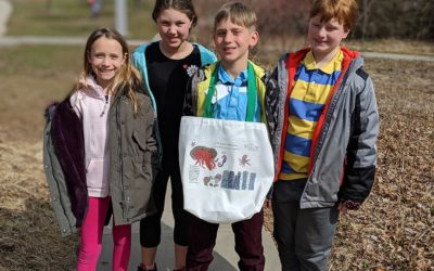 Fourth Graders Fundraise, Ask Governor to Reduce Plastic