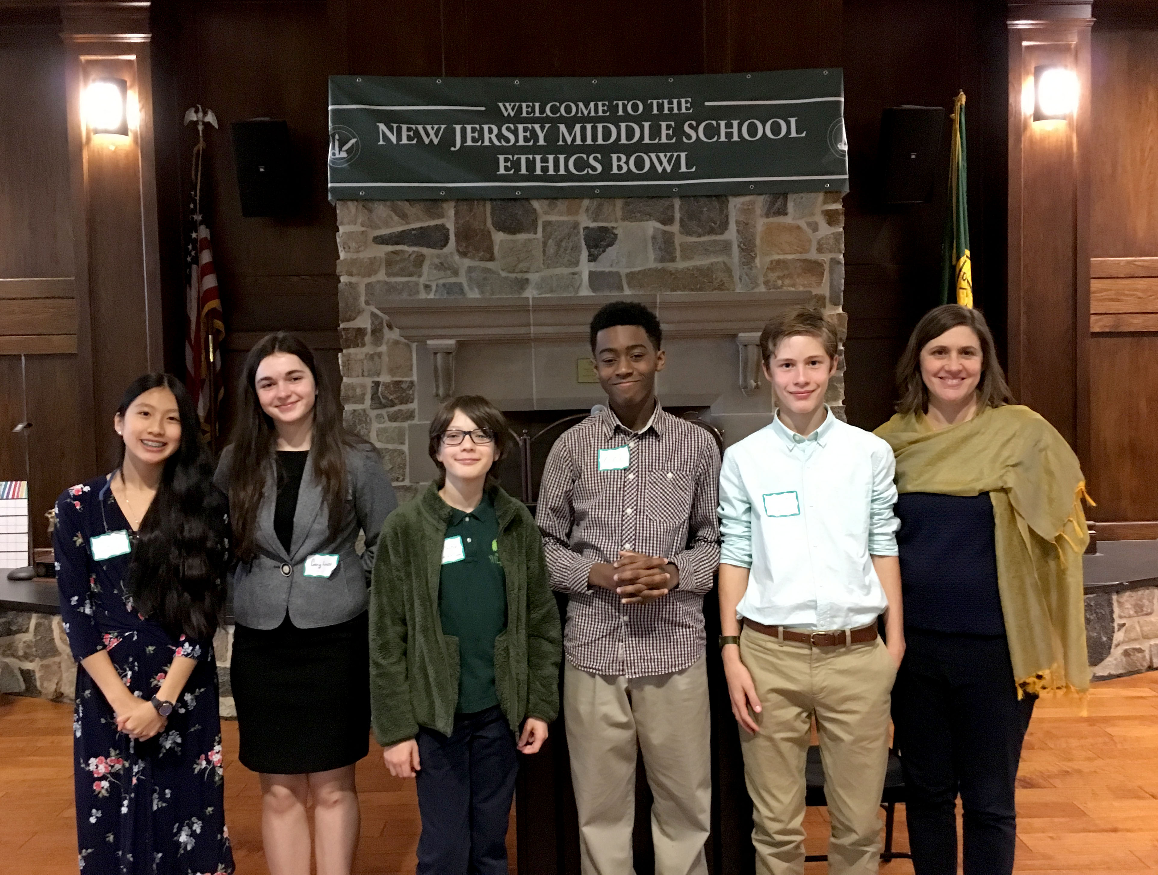 Willow Middle Schoolers Participate in First Ethics Bowl