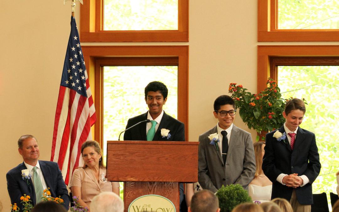 Watch the Class of 2019's Graduation Speech!