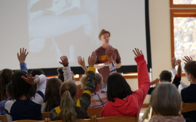 Kindness Diaries Host Speaks to Middle Schoolers