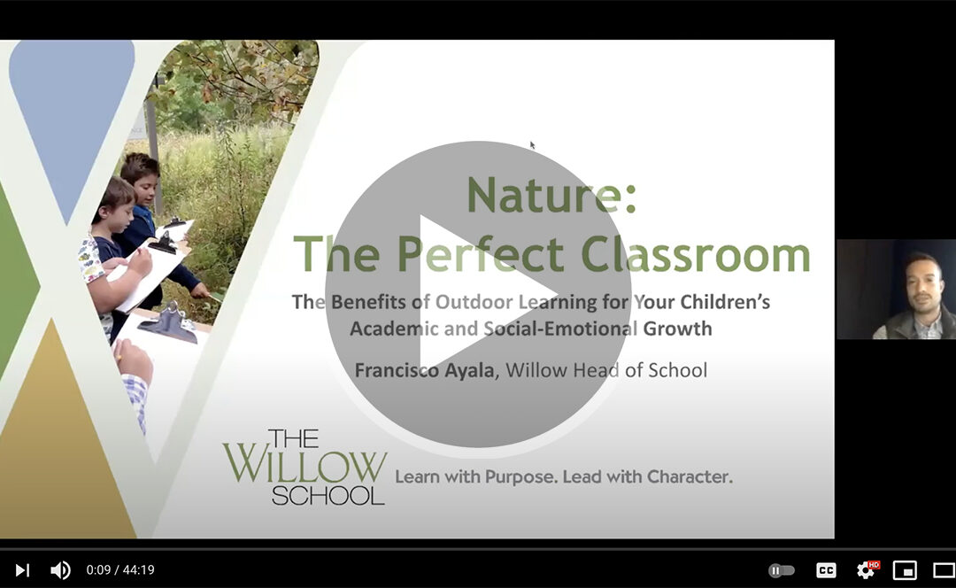 Watch: How Your Child Benefits From Outdoor Learning
